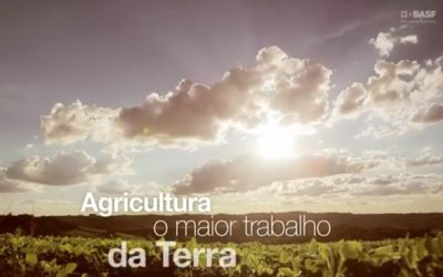 BASF apresenta campanha Agricultura, o maior trabalho da Terra
