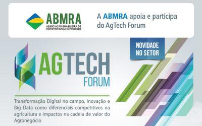 AgTech Forum promove o debate de toda a cadeia do agronegócio