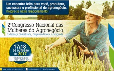 Contagem regressiva para a abertura das inscrições do 2˚ Congresso Nacional das Mulheres do Agronegócio