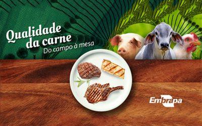 Embrapa lança página especial sobre contribuições da ciência para qualidade da carne brasileira