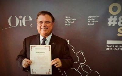 Maggi recebe na OIE certificado do Brasil livre da aftosa com vacinação