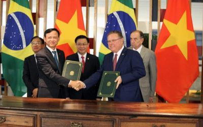 Brasil e Vietnã firmam parceria na área do agronegócio