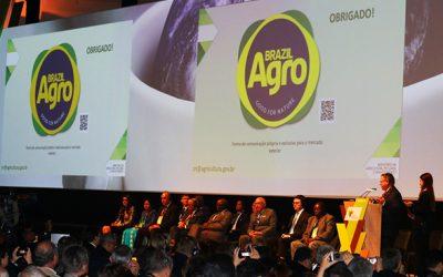 """Ministro Blairo Maggi lança marca """"Agro Brazil – Good for Nature"""""""