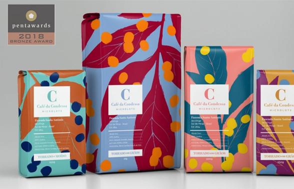 Embalagens Do Café Da Condessa Ganham O Pentawards 2018