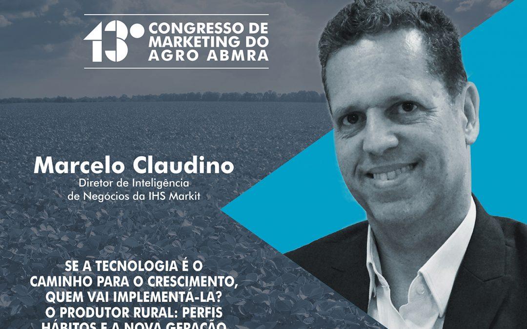 Marcelo Claudino será um dos palestrantes do Congresso de Marketing do Agro ABMRA