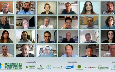 Agro brasileiro mostra-se inovador, tecnológico, altamente produtivo e sustentável no 13° Congresso de Marketing do Agro ABMRA
