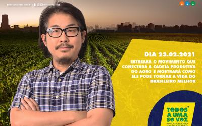 """""""Todos a Uma Só Voz"""". ABMRA apoia esse movimento em prol do Agro"""