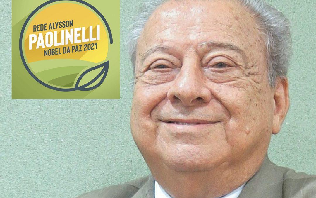 Agora é oficial. Indicação de Alysson Paolinelli é aceita e ele concorre ao Prêmio Nobel da Paz de 2021